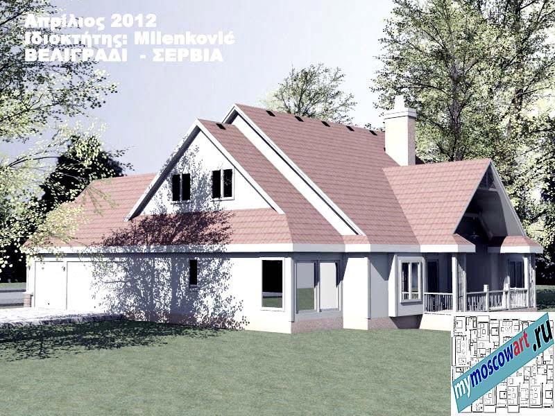 Проект дома - Миленкович (Город Белград - Сербия) (6)