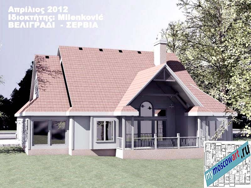 Проект дома - Миленкович (Город Белград - Сербия) (7)