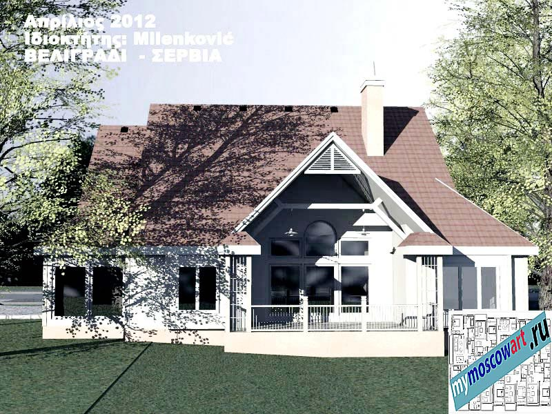 Проект дома - Миленкович (Город Белград - Сербия) (8)