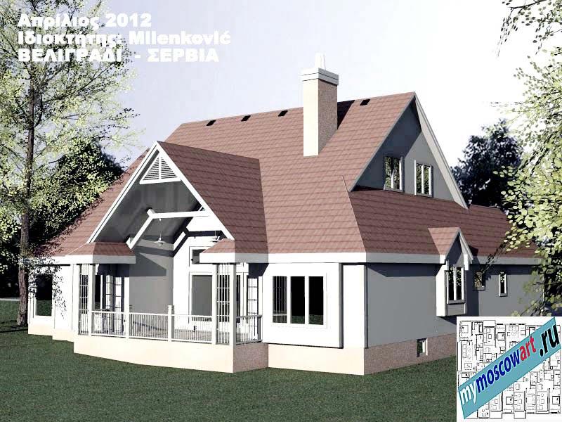 Проект дома - Миленкович (Город Белград - Сербия) (9)