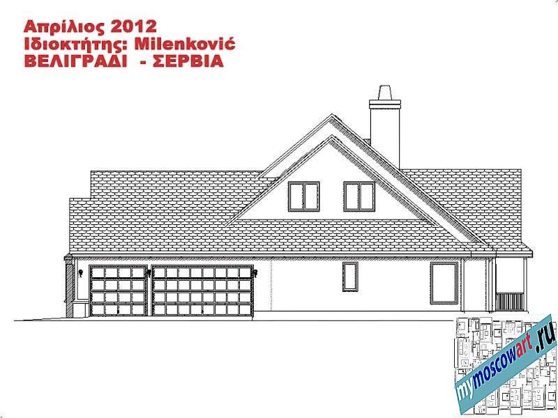 Проект дома - Миленкович (Город Белград - Сербия) (14)