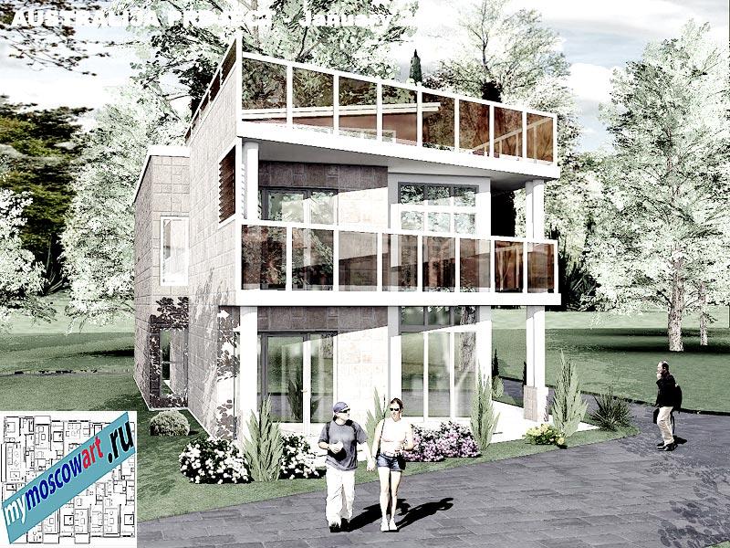Проект дома - Томас (Город Шеллхарбор - Австралия) (1)