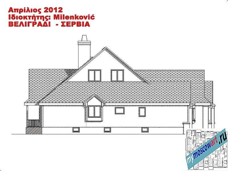 Проект дома - Миленкович (Город Белград - Сербия) (16)