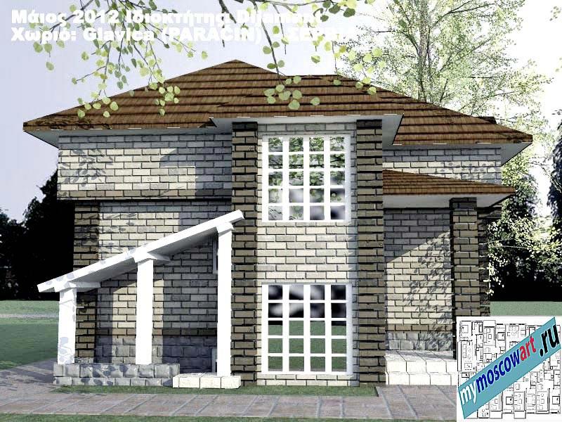 Проект дома - Диямант (Деревня Главица - Сербия) (6)