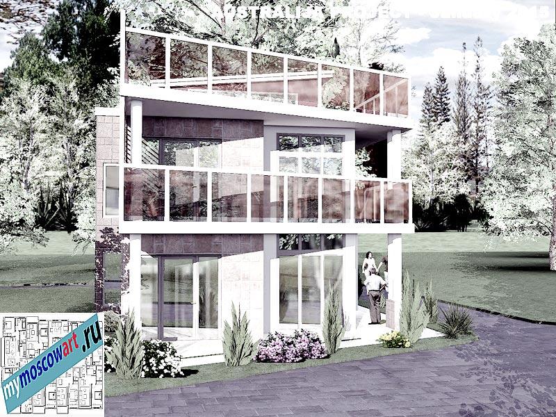 Проект дома - Томас (Город Шеллхарбор - Австралия) (2)