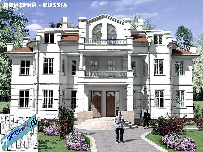 Проект дома - Димитрий (Город Москва - Россия) (2)