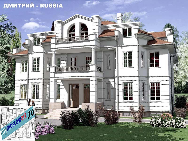 Проект дома - Димитрий (Город Москва - Россия) (3)