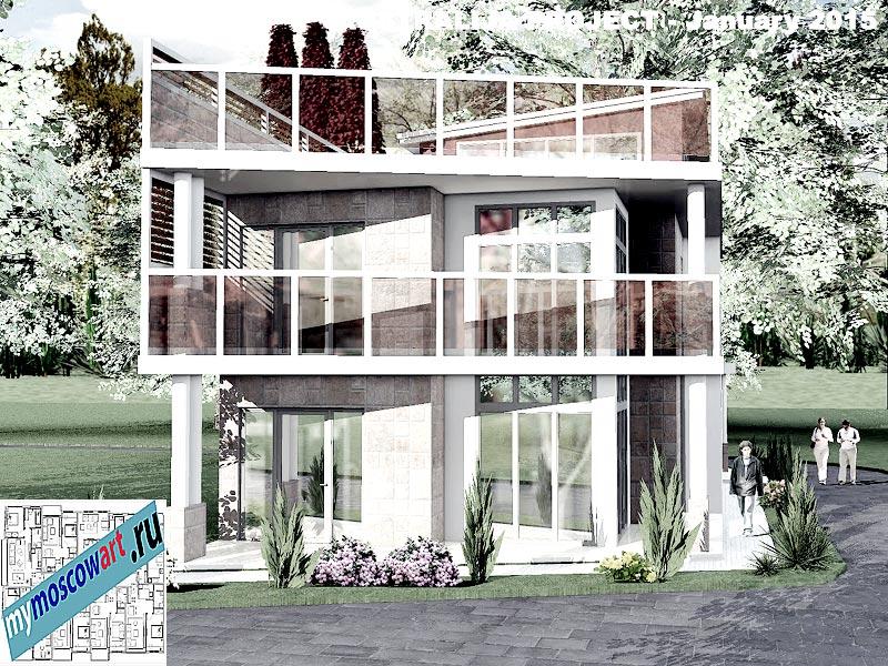 Проект дома - Томас (Город Шеллхарбор - Австралия) (3)
