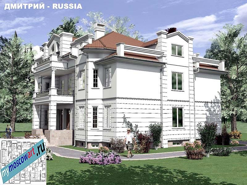 Проект дома - Димитрий (Город Москва - Россия) (5)