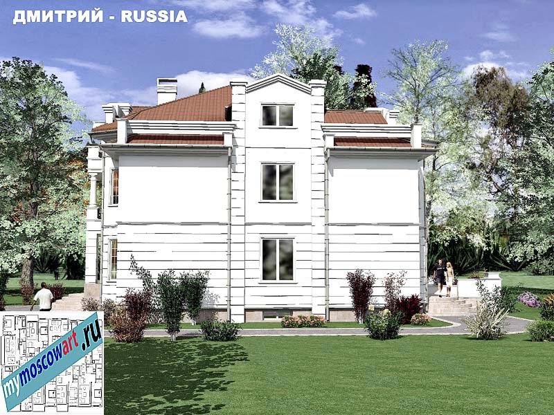 Проект дома - Димитрий (Город Москва - Россия) (6)