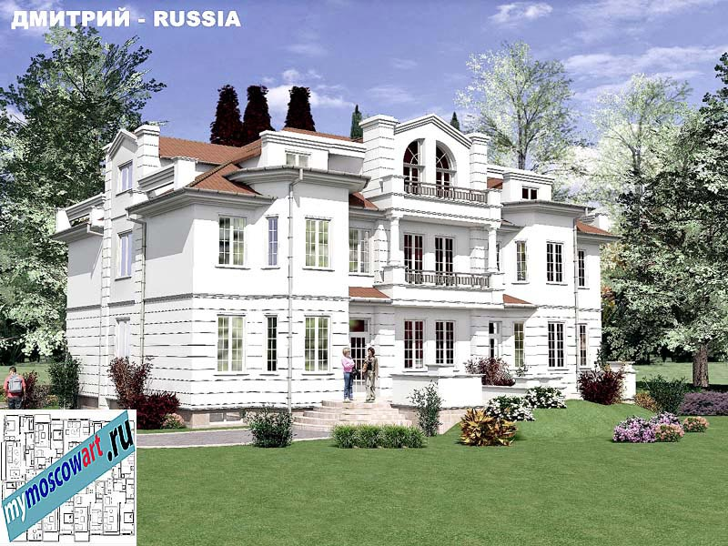 Проект дома - Димитрий (Город Москва - Россия) (8)