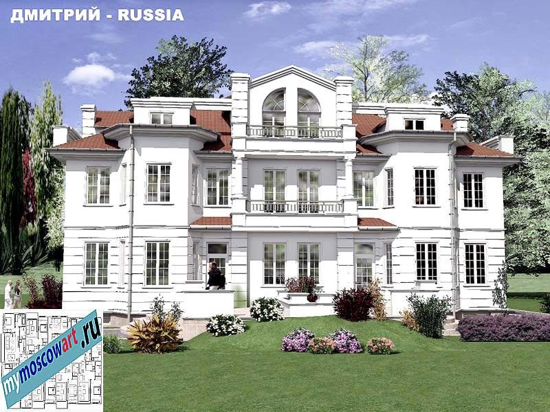 Проект дома - Димитрий (Город Москва - Россия) (9)