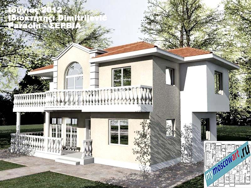 Проект дома - Димитриевич (Город Парачин - Сербия) (4)