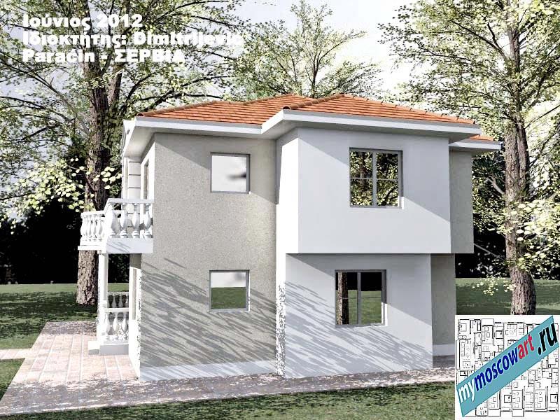 Проект дома - Димитриевич (Город Парачин - Сербия) (5)