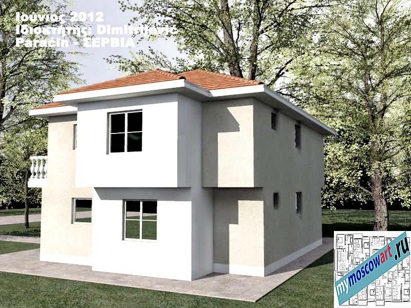 Проект дома - Димитриевич (Город Парачин - Сербия) (6)