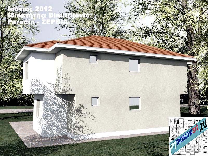 Проект дома - Димитриевич (Город Парачин - Сербия) (7)