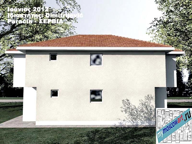 Проект дома - Димитриевич (Город Парачин - Сербия) (8)
