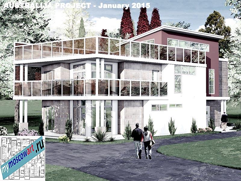 Проект дома - Томас (Город Шеллхарбор - Австралия) (4)