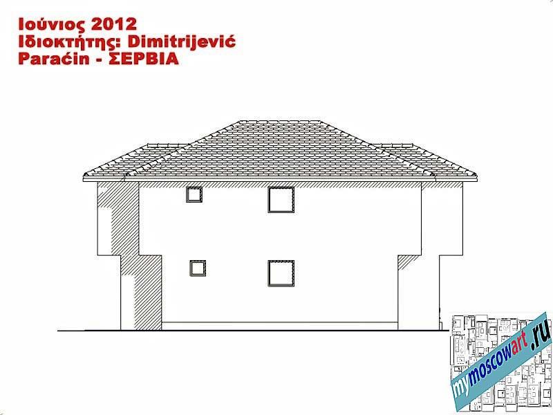 Проект дома - Димитриевич (Город Парачин - Сербия) (13)