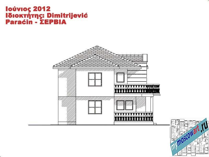Проект дома - Димитриевич (Город Парачин - Сербия) (14)