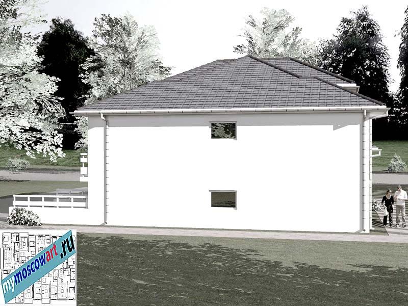 Проект дома - Бобан (Город Парачин - Сербия) (8)