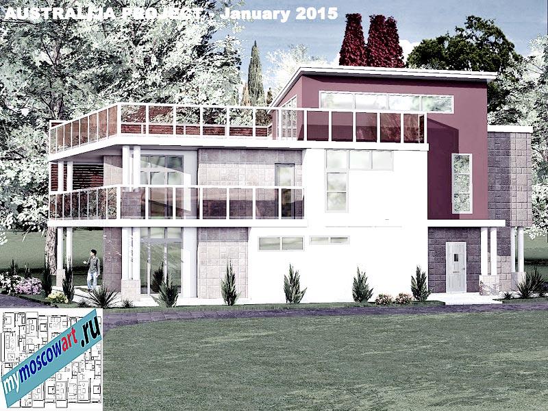 Проект дома - Томас (Город Шеллхарбор - Австралия) (5)