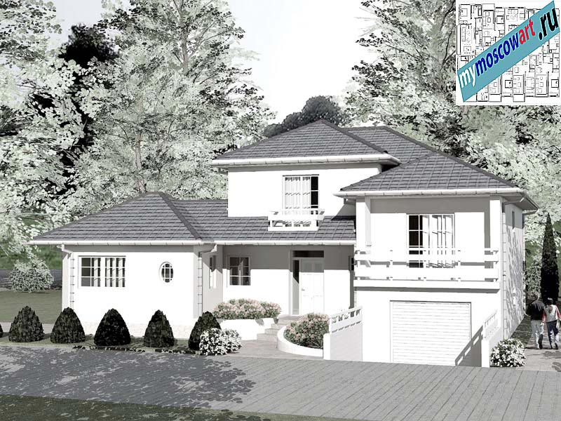 Проект дома - Бобан (Город Парачин - Сербия) (10)