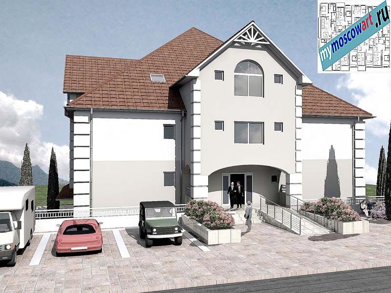 Проект дома для престарелых - Панич (Город Вршац - Сербия) (1)