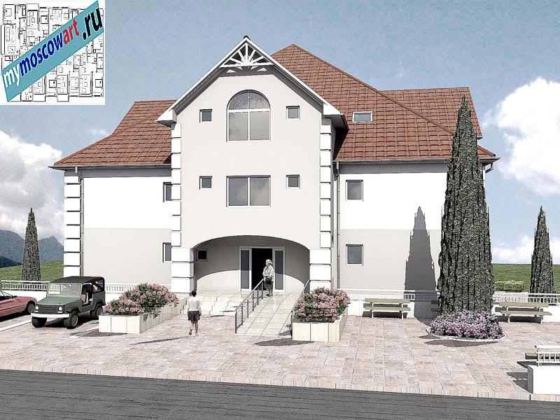 Проект дома для престарелых - Панич (Город Вршац - Сербия) (2)