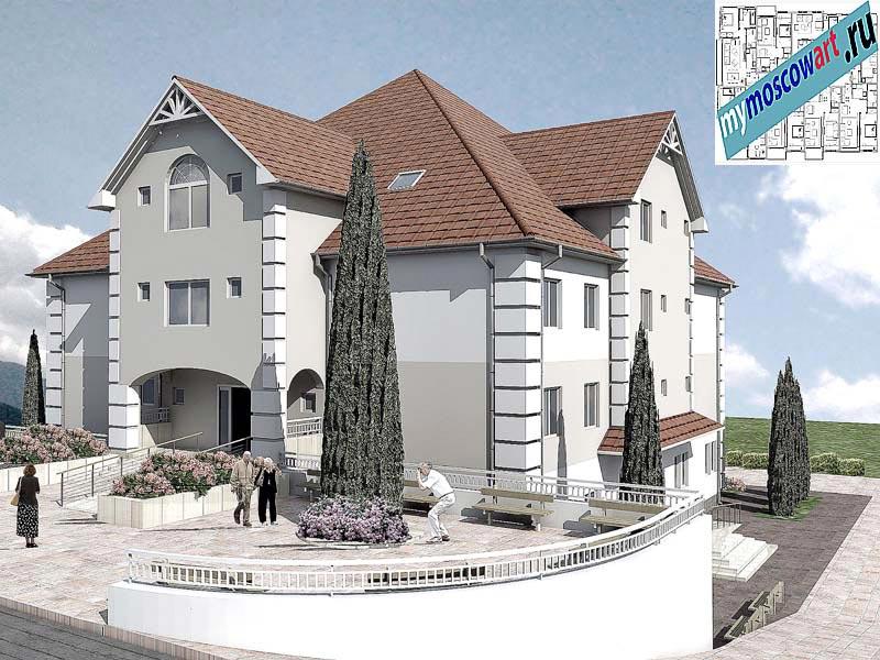 Проект дома для престарелых - Панич (Город Вршац - Сербия) (3)
