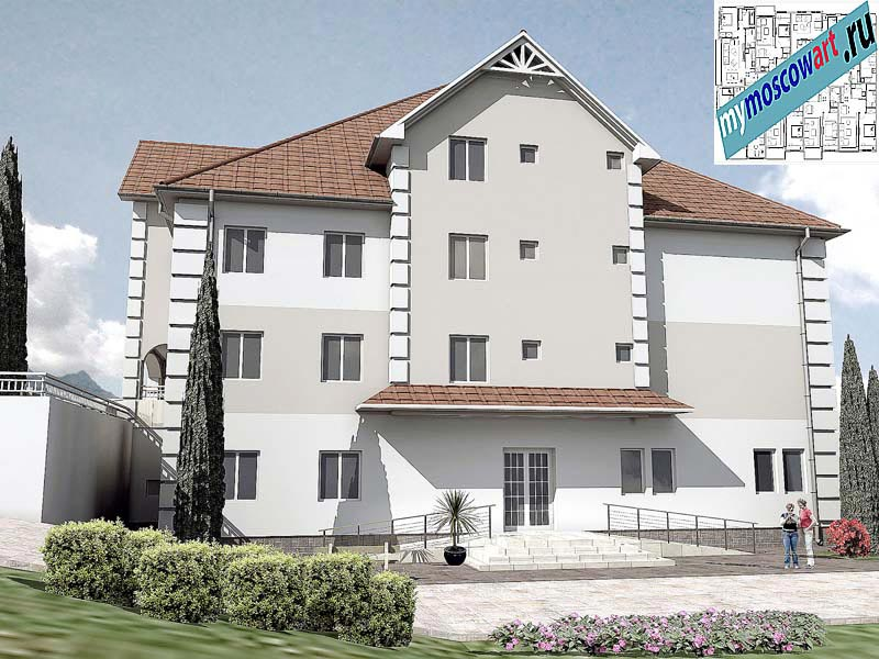 Проект дома для престарелых - Панич (Город Вршац - Сербия) (5)