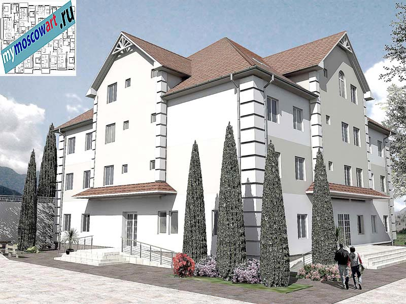 Проект дома для престарелых - Панич (Город Вршац - Сербия) (6)