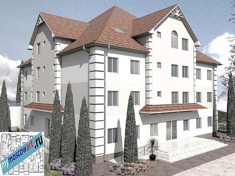 Проект дома для престарелых - Панич (Город Вршац - Сербия) (7)