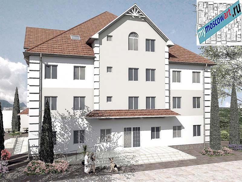 Проект дома для престарелых - Панич (Город Вршац - Сербия) (8