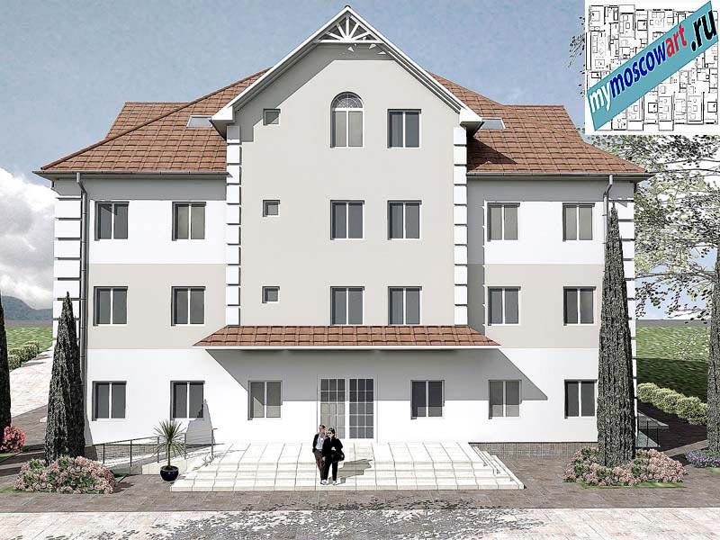 Проект дома для престарелых - Панич (Город Вршац - Сербия) (9)