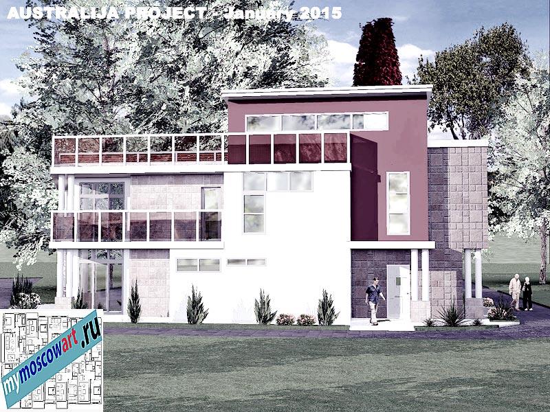 Проект дома - Томас (Город Шеллхарбор - Австралия) (6)