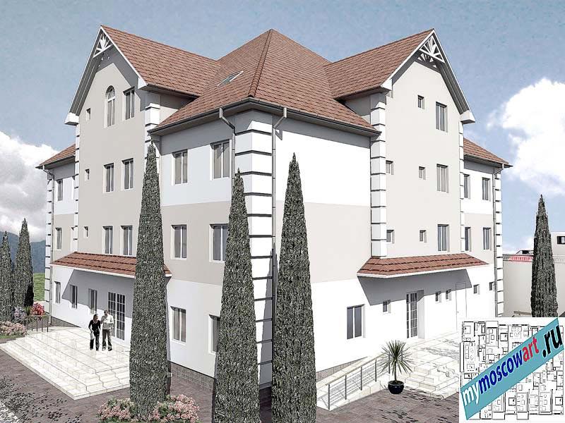 Проект дома для престарелых - Панич (Город Вршац - Сербия) (10)