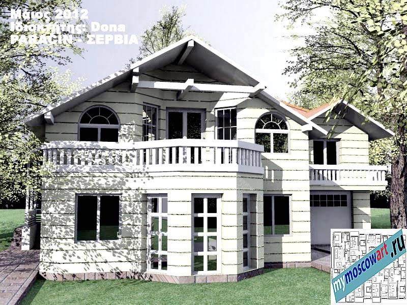 Проект дома - Дона (Город Парачин - Сербия) (1)