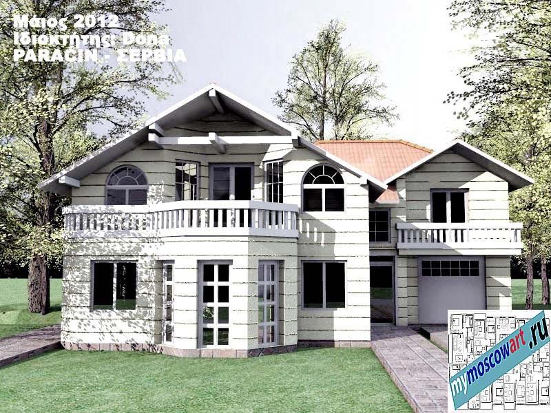 Проект дома - Дона (Город Парачин - Сербия) (2)
