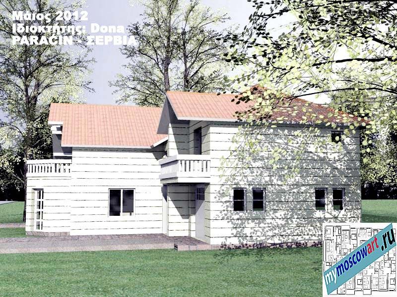 Проект дома - Дона (Город Парачин - Сербия) (4)