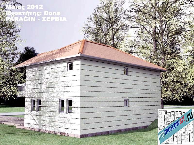 Проект дома - Дона (Город Парачин - Сербия) (5)