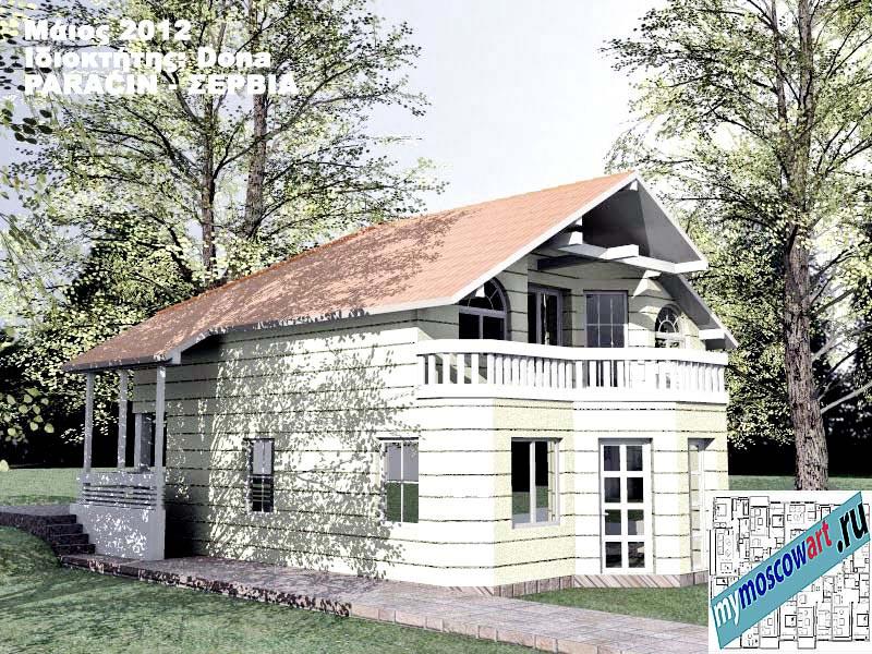 Проект дома - Дона (Город Парачин - Сербия) (8)
