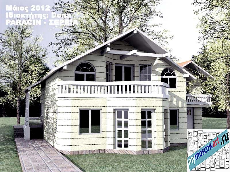 Проект дома - Дона (Город Парачин - Сербия) (9)