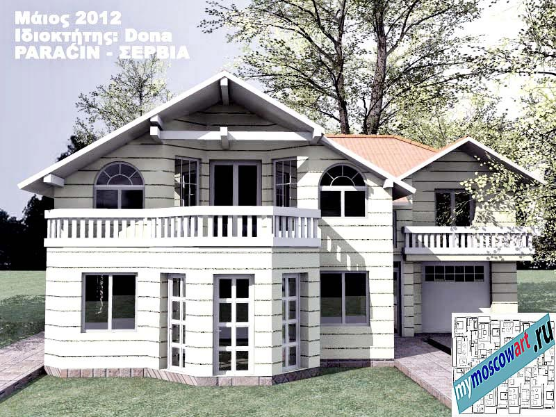 Проект дома - Дона (Город Парачин - Сербия) (10)