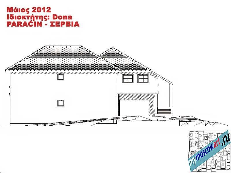 Проект дома - Дона (Город Парачин - Сербия) (13)