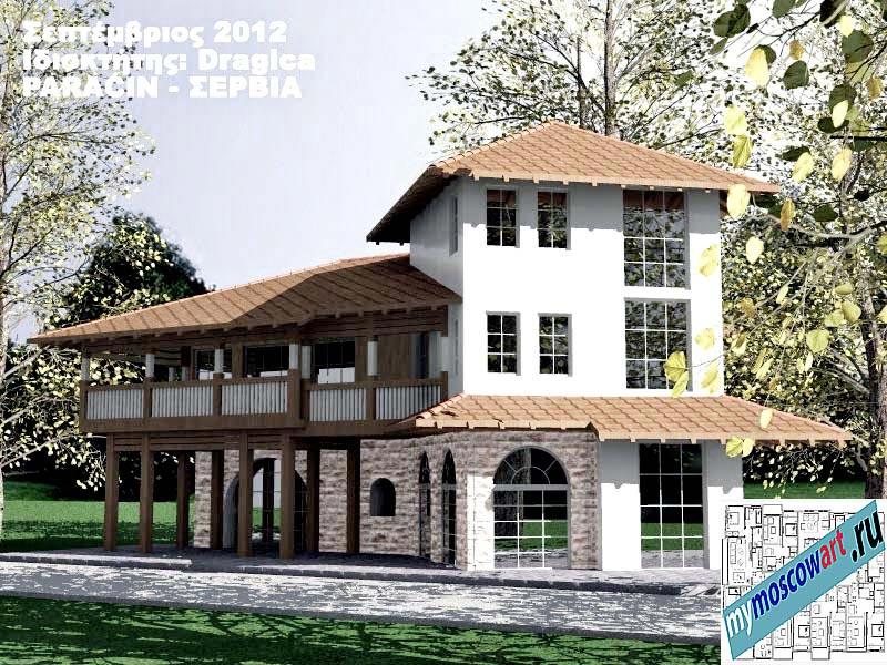 Проект дома - Драгица (Деревня Болевац - Сербия) (5)