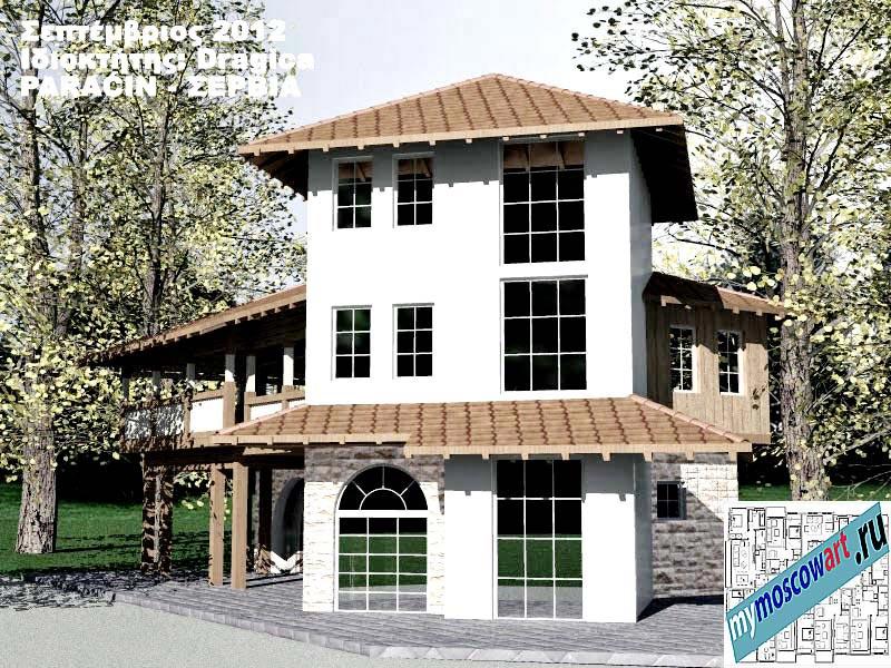 Проект дома - Драгица (Деревня Болевац - Сербия) (6)