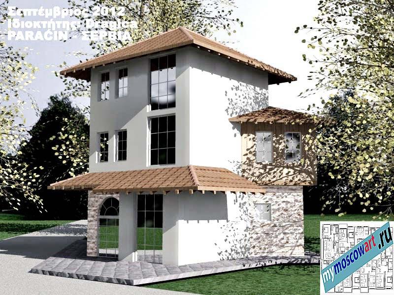 Проект дома - Драгица (Деревня Болевац - Сербия) (7)