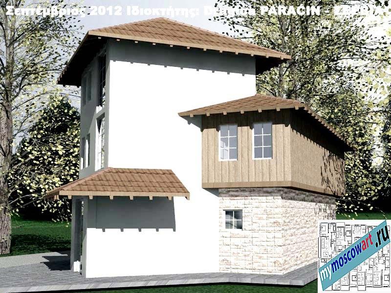 Проект дома - Драгица (Деревня Болевац - Сербия) (8)