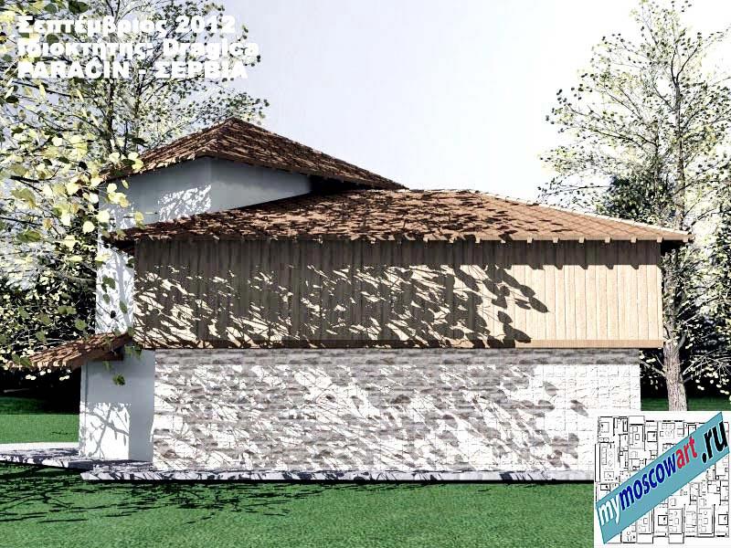 Проект дома - Драгица (Деревня Болевац - Сербия) (9)